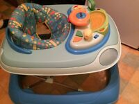 Chicco baby walker immaculate condition all lights and sounds in working order