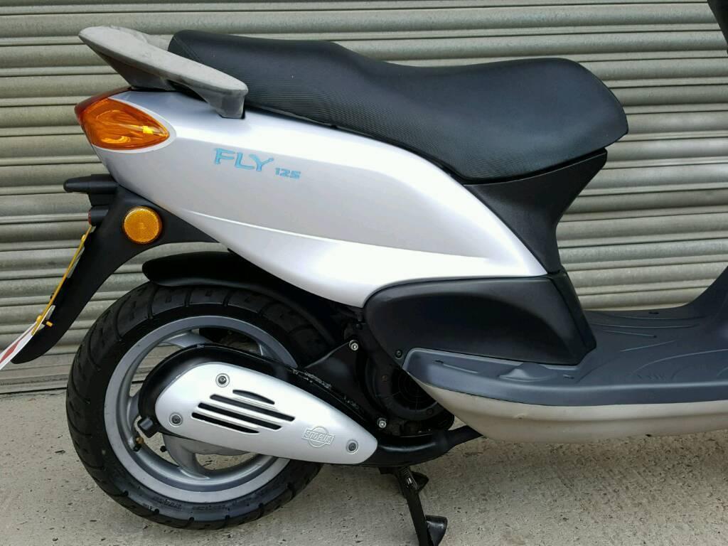 2008 piaggio fly 125 scooter full mot *low mileage* | in taverham