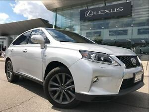 2015 Lexus RX 350 F Sport AWD Navi Backup Cam Leather Sunroof