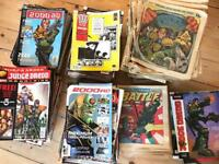 Back issues of 2000AD