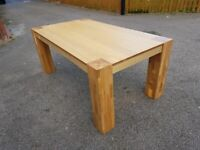 Large Oak Dining Table 180cm FREE DELIVERY 780