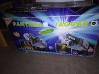 Jaguar mh-275b/2 dj disco lights and meridian HA-104 mixer amp