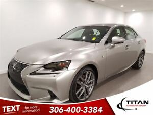 2015 Lexus IS 250 AWD|Cam|Bluetooth|Nav|Leather|PST Paid