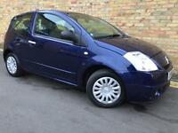 2007 CITROEN C2 - 1 YEARS MOT - 1 LADY OWNER - FULL SERVICE HISTORY- SUPERB EXAMPLE