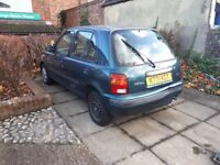 Drives well n reg nissan micra 5dr for export