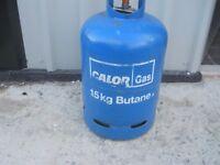 gas bottle almost full
