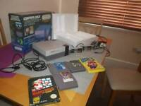 NES boxed with 5 historical games