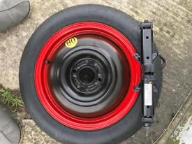 Spare wheel Ford focus+jack brand new