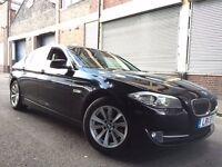BMW 5 SERIES 2011 2.0 520d SE 4 door AUTOMATIC, FULLY LOADED, SATNAV, LED PACK, FSH, NEW SHAPE