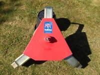 Bulldog Wheel Clamp for a Motorhome Caravan Camper
