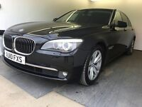 2010 | BMW 730d SE LWB | Auto | Diesel | 3 Former Keepers | Service History | PCO | HPI Clear