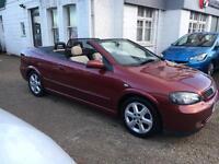 Vauxhall Convertible/genuine low miles/ top spec