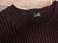 Two men's large jumpers