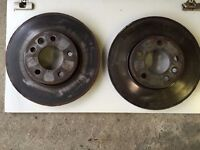 VW T5 Brake Discs - Removed for upgrade **FREE TO COLLECT**