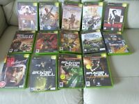 14 x box games all original with books/sleeves and in good condition