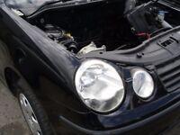 VW POLO 1.2 12V 9N 2002-05 DRIVERS SIDE HEADLIGHT