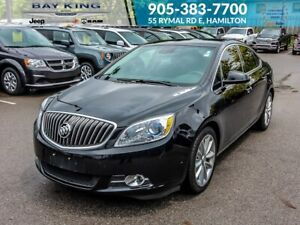 2017 Buick Verano A/C, LEATHER, HEATED SEATS, KEYLESS ENTRY
