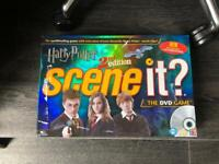 Harry Potter Scene it dvd board game excellent condition