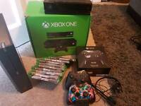 Xbox one, elite controller and games