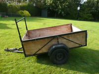 Trailer 6 x 4 with ladder rack