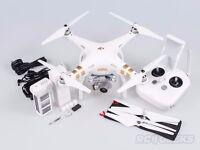"Barely used DJI Phantom 3 Pro 4K Quadcopter Drone + 3 batteries + 7"" tablet."