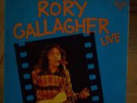 RORY GALLAGHER - VINYL - RORY GALLAGHER LIVE