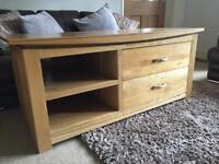 Oak Furniture Land TV cabinet solid oak