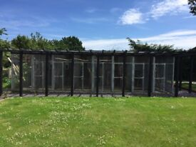 Set of 8 aviaries for sale