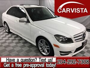 2013 Mercedes-Benz C-Class 300 4MATIC -ONE OWNER/NO ACCIDENTS-