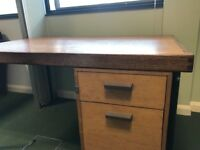 Heavy Wooden Desk