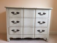 Brand New! Hand-made Solid French Style 3 Drawer Wide Chest