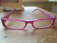 Pink Dolce & Gabbana glasses frames