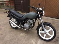 1996 Honda CB250 project spares or repair parts damaged