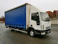 2004 IVECO EUROCARGO 75E17 170 BHP 5 SPEED MANUAL 20FT CURTAINSIDE VERY TIDY TRUCK MOT TILL 03/2018