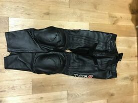 XTi leather trousers and Kavlar jeans mint size 34