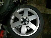 "Audi A3 TT Vw Golf Bora Alloys 17"" with tyers 225 45 17"