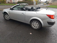 Renault Megane Convertible 2006, Full year MOT, Very low miles 59k. Looks and drives excellent.