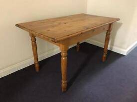 Rustic Pine Dining Table £70 ONO