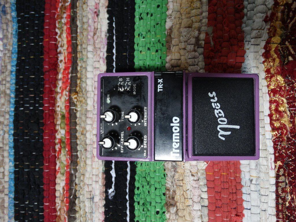 Nobels Tr X Tremolo 1993 Offers Trades In Roath Cardiff Gumtree Wah Pedal