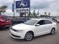 2012 Volkswagen Jetta 2.5L Highline/ BLUETOOTH/ HEATED LEATHER S