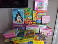 Various toddler and puzzles
