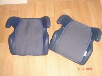 2 Kids booster seats - clean - non smoker - no pets SORRY NO OFFERS