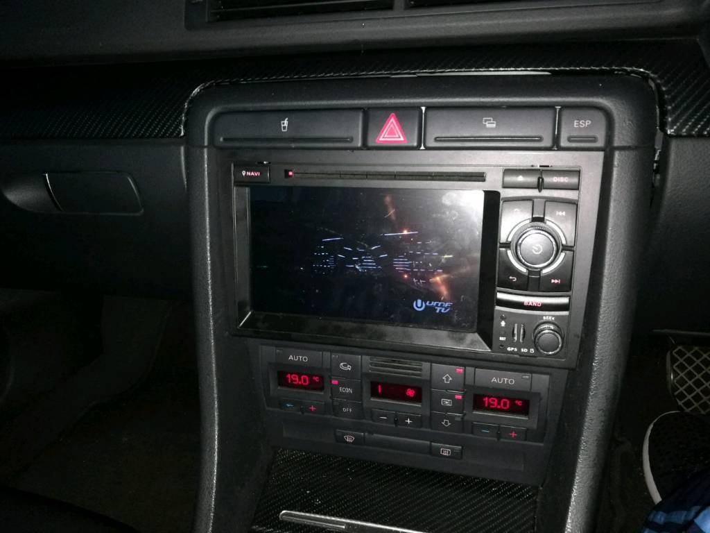 Audi a4 b6 b7 android 5 1 gps dvd reverse camera sat nav for Mueble 2 din audi a4 b6