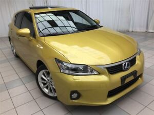 2012 Lexus CT 200h Technology Package: Hybrid, Leather.