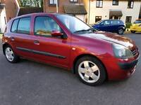 2003 Renault Clio Privilege Automatic 1.4