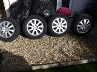 alloy wheels and tyres mercedes A class 2005-2011