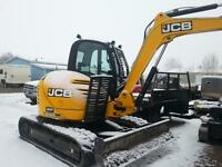 I have a excavator for sale 8085 JCB with 600 hours  19000 lbs