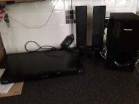 Panasonic bluray surround sound system