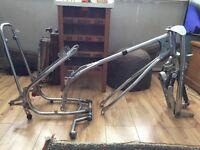 Speedway grasstrack bike frame & forks