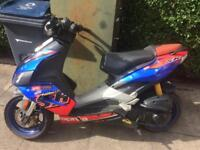 Moped 50cc Aprilia SR50R very good condition!